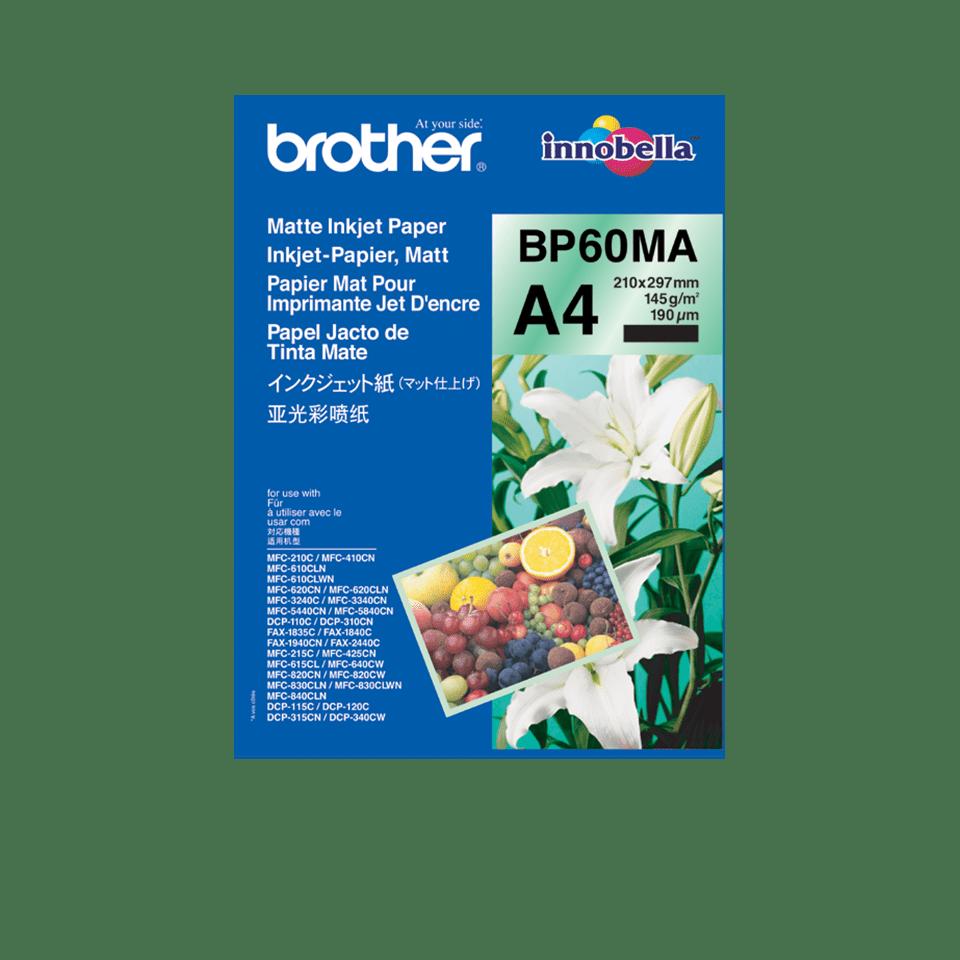 Oryginalny matowy papier BP60MA firmy Brother formatu A4