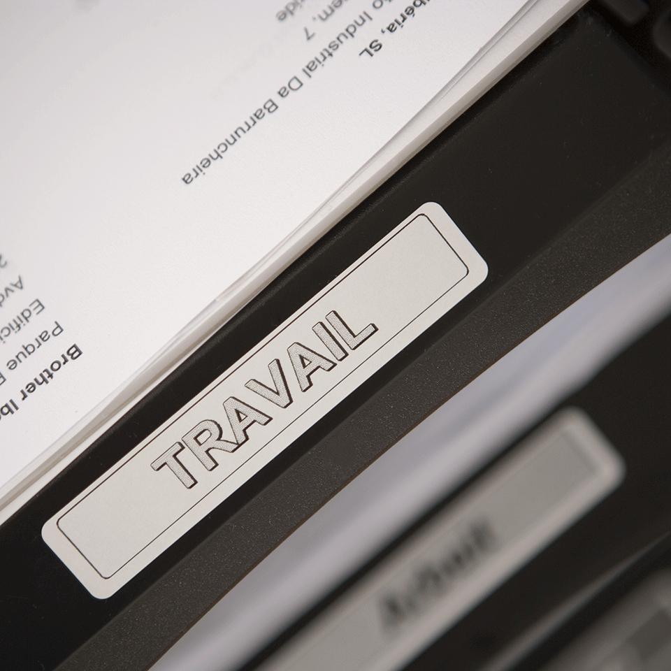 Oryginalne etykiety na rolce firmy Brother DK-11204  – czarny nadruk na białym tle, 17mm x 54mm 2