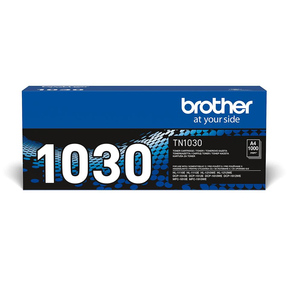 Oryginalny toner TN-1030 firmy Brother – czarny
