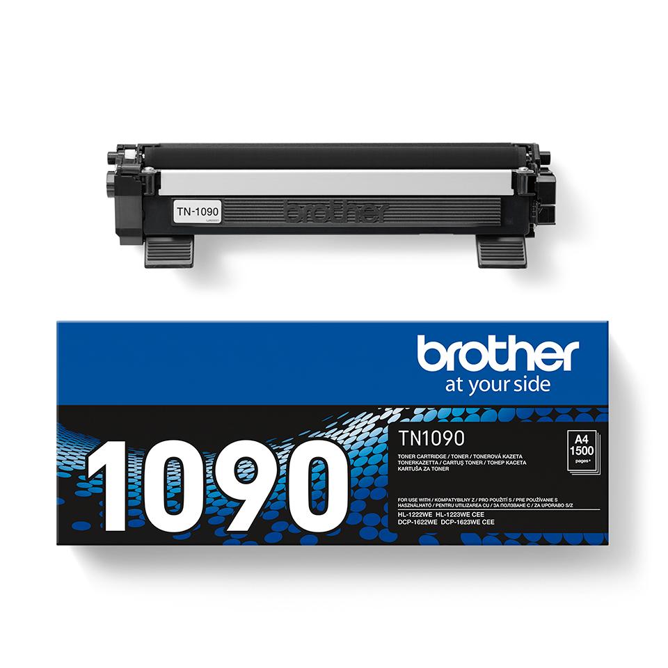 Oryginalny czarny toner TN-1090 firmy Brother 2