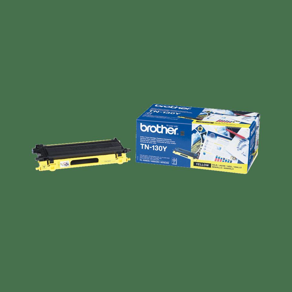 Genuine Brother TN-130Y Toner Cartridge – Yellow