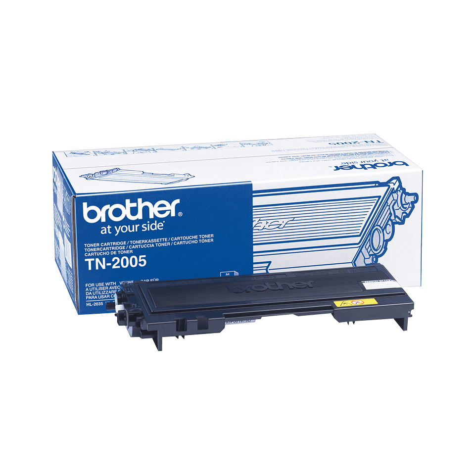 Oryginalny czarny toner Brother TN-2000