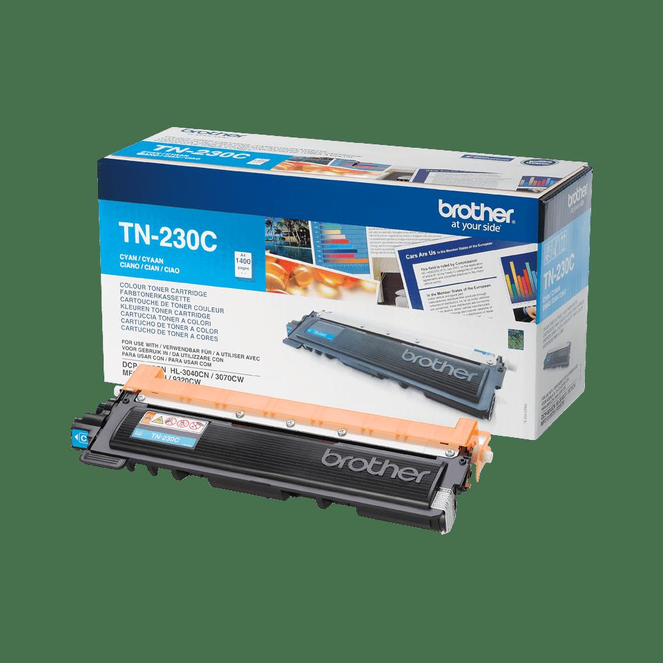 Oryginalny toner TN-230C firmy Brother w kolorze cyan