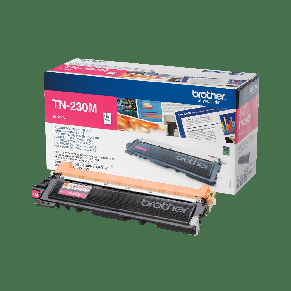 Oryginalny toner Brother TN-230M – magenta