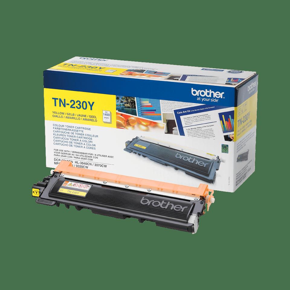 Oryginalny toner Brother TN-230Y – żółty 2
