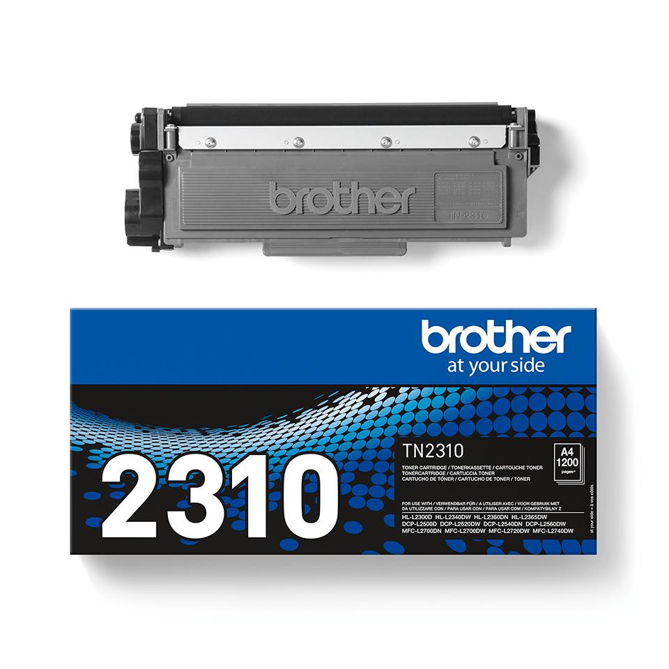 Oryginalny czarny toner TN-2310 firmy Brother 2