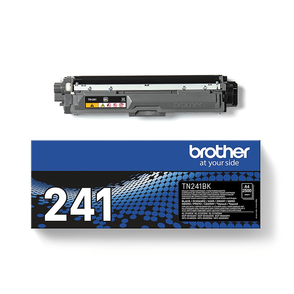 Oryginalny czarny toner TN-241BK firmy Brother 3