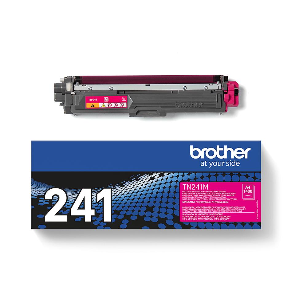 Oryginalny toner Brother TN-241M – magenta 2