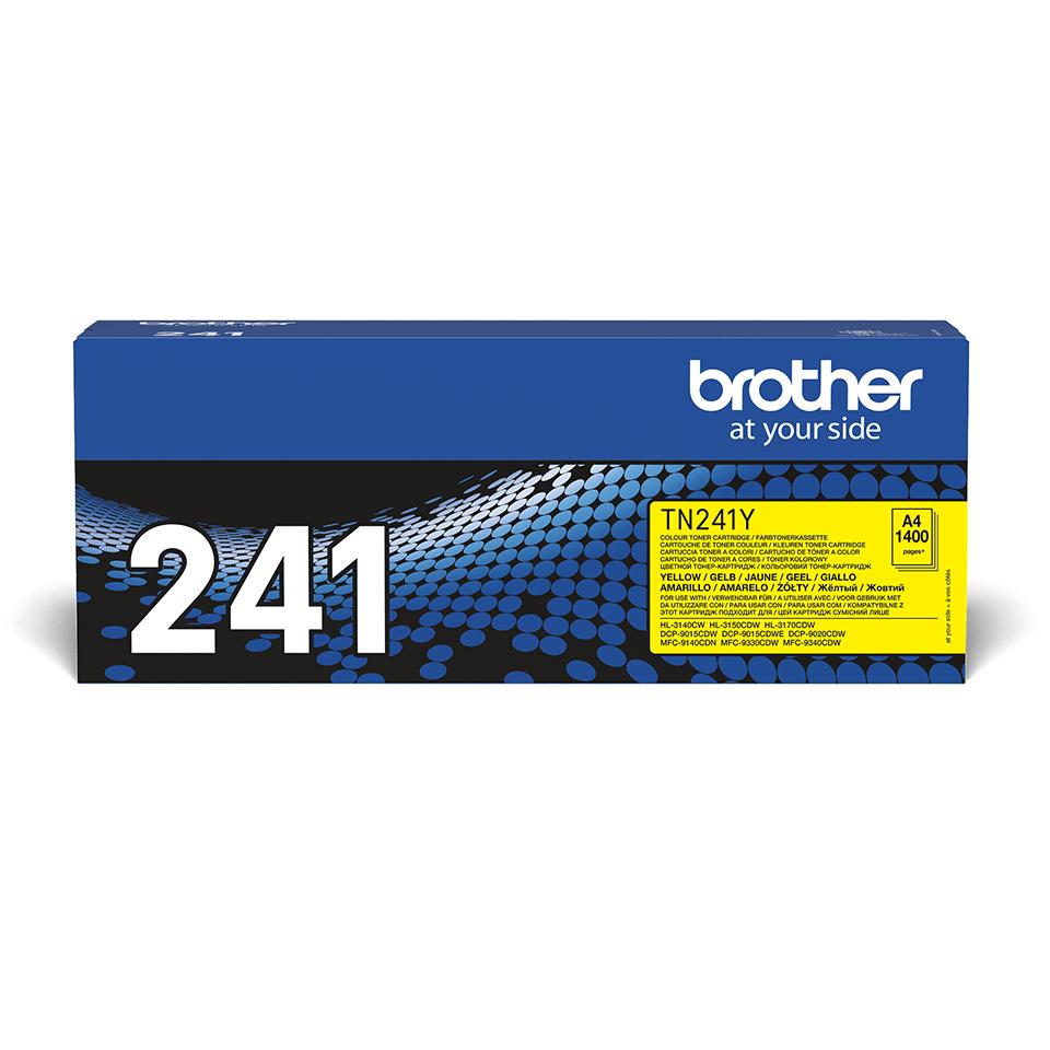 Oryginalny toner Brother TN-241Y – żółty 2