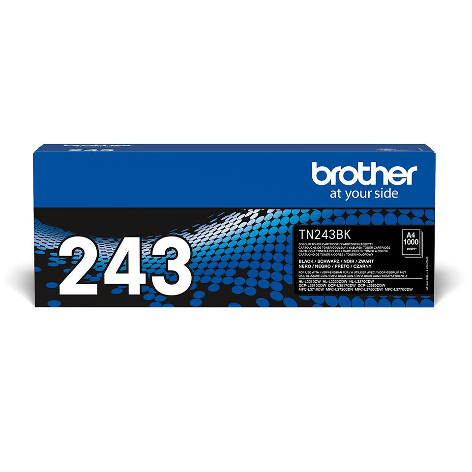 Oryginalny czarny toner Brother TN-243BK 2