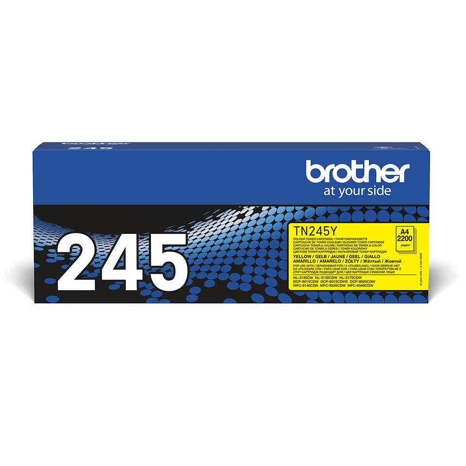 Oryginalny toner Brother TN-245Y – żółty 2