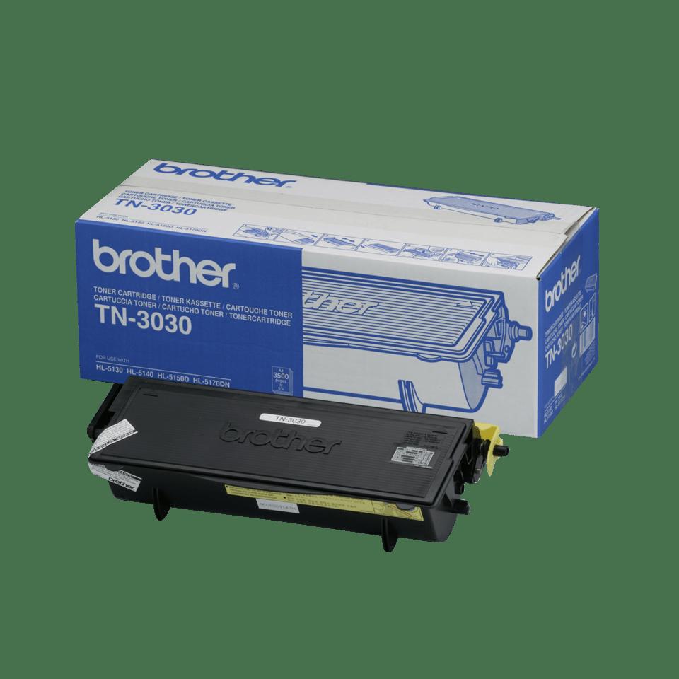 Oryginalny wysokowydajny czarny toner TN-3030 firmy Brother