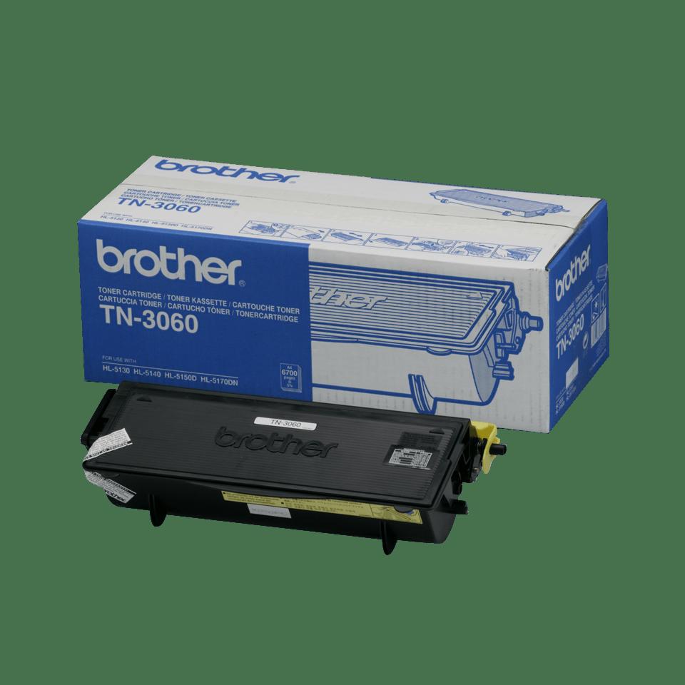 Oryginalny wysokowydajny czarny toner TN-3060 firmy Brother