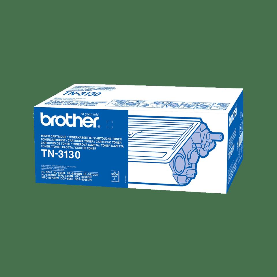 Oryginalny wysokowydajny czarny toner TN-3130 firmy Brother