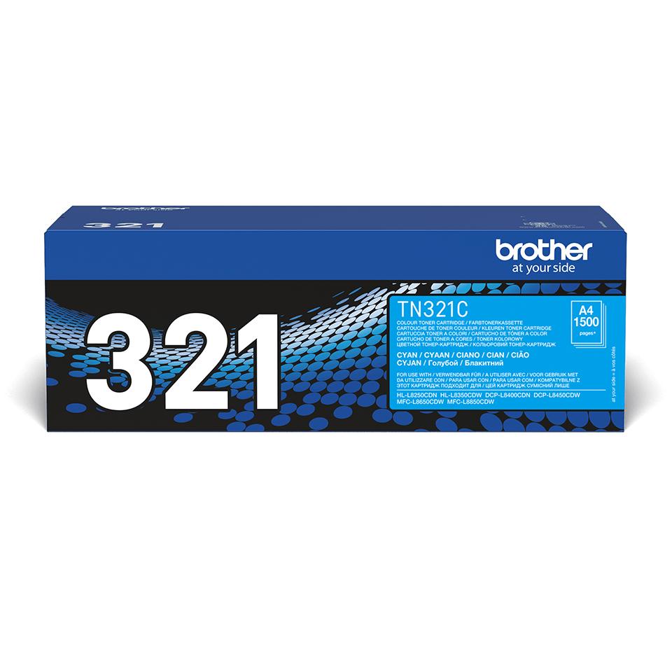 Oryginalny toner Brother TN-321C – cyan