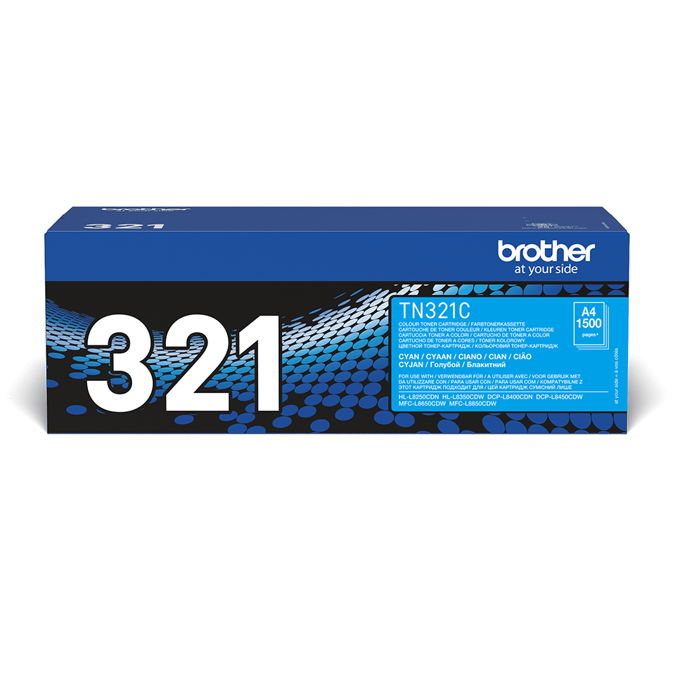Oryginalny toner Brother TN-321C – cyan 2