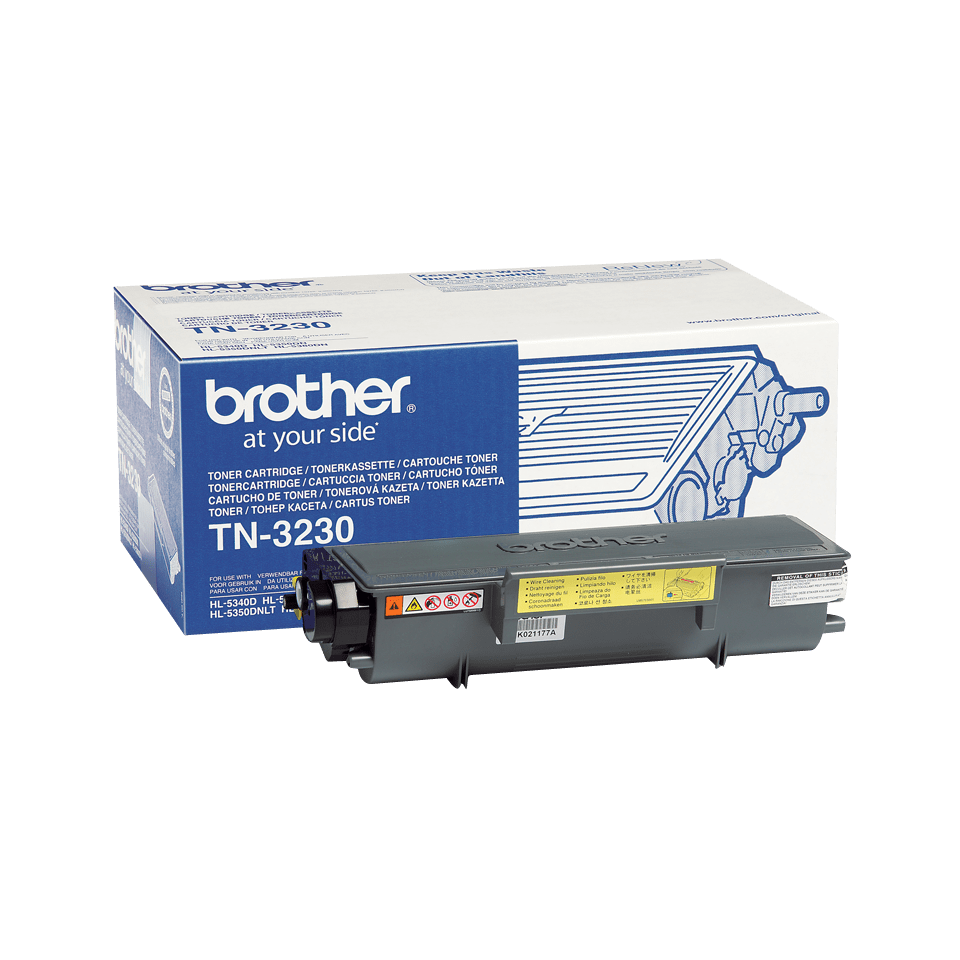 Oryginalny czarny toner TN-3230 firmy Brother