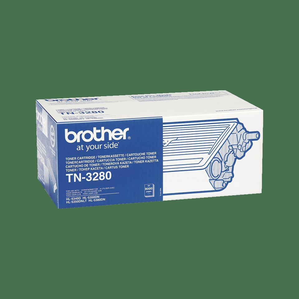 Oryginalny wysokowydajny czarny toner TN-3280 firmy Brother 2