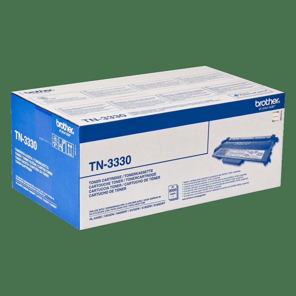 Oryginalny czarny toner Brother TN-3330  2