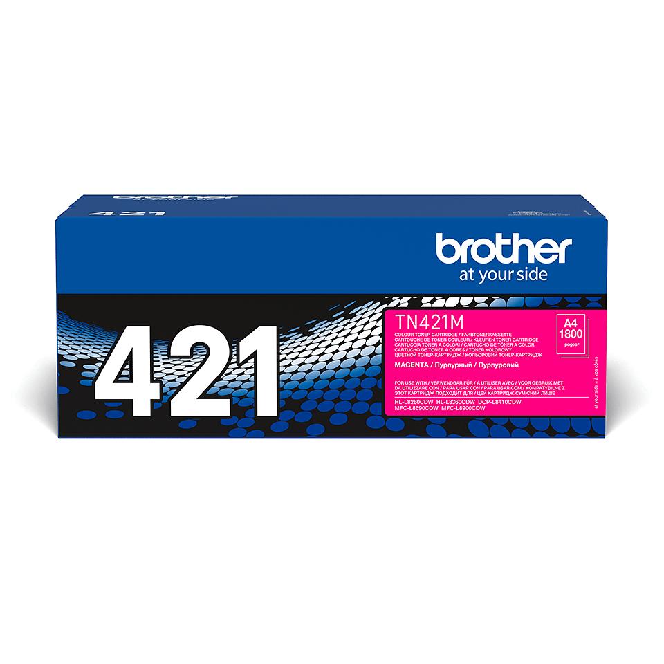 Oryginalny toner w kolorze magenta Brother TN-421M