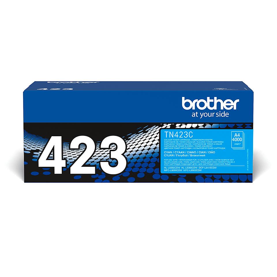 Oryginalny toner Brother TN-423C – cyan