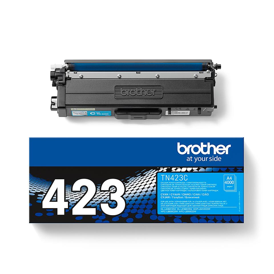 Oryginalny toner Brother TN-423C – cyan 2