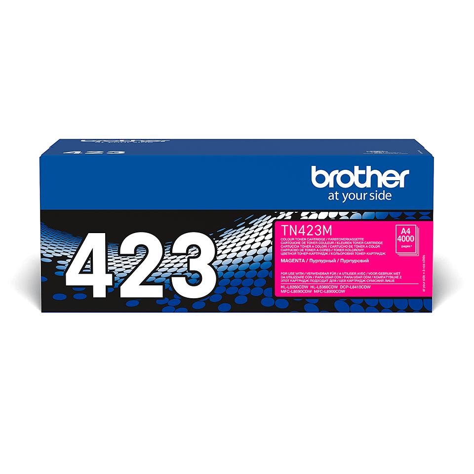 Oryginalny toner Brother TN-423M – magenta