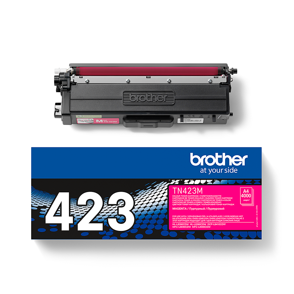 Oryginalny toner Brother TN-423M – magenta 2