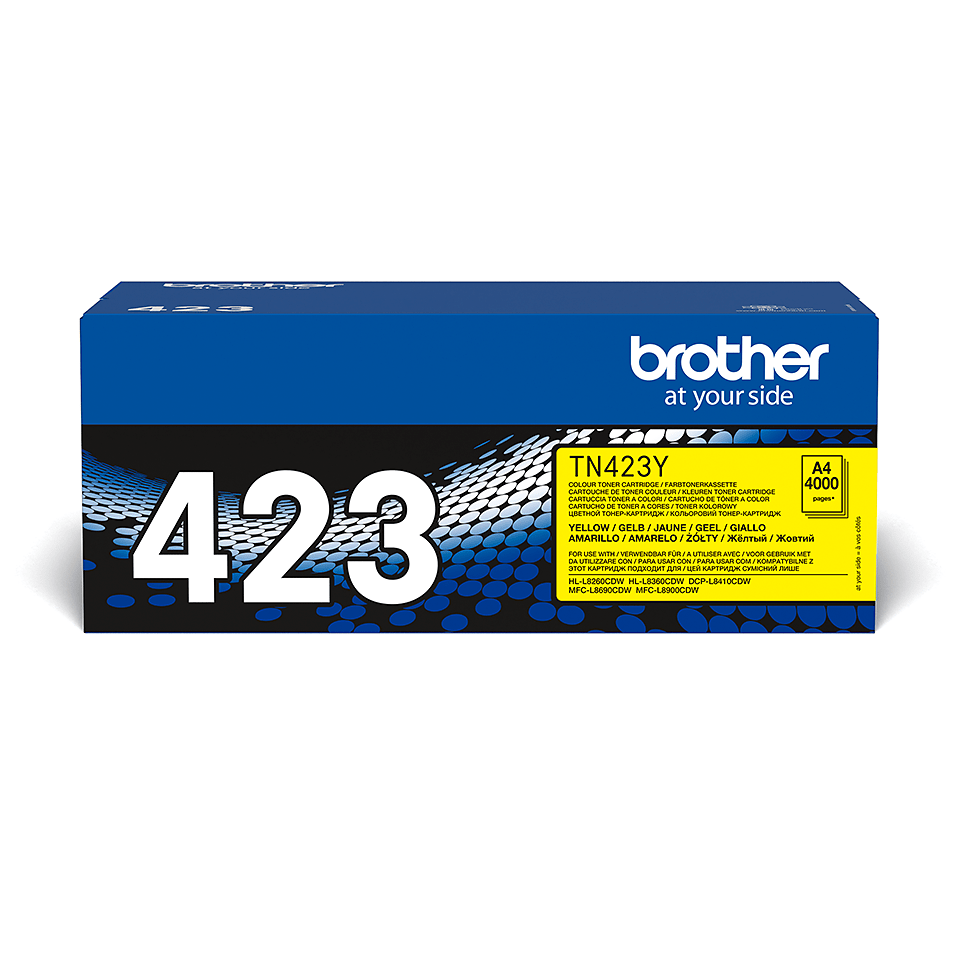 Oryginalny żółty toner Brother TN-423Y