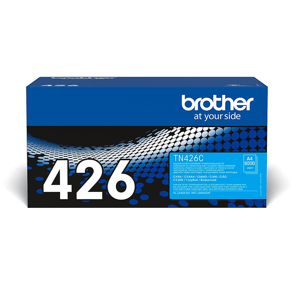 Oryginalny toner Brother TN-426C – cyan 2