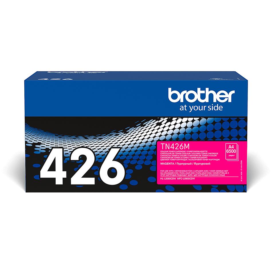 Oryginalny toner Brother TN-426M – magenta 2