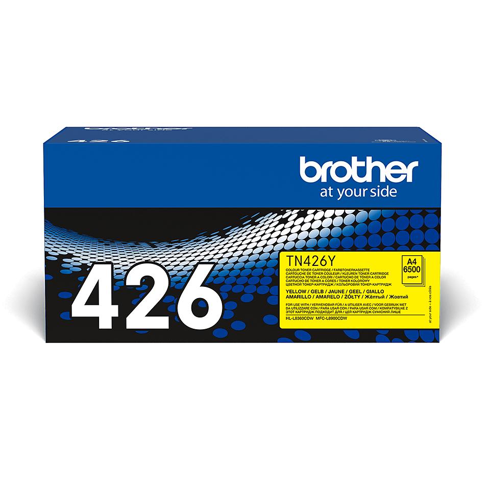 Oryginalny żółty toner Brother TN-426Y 2