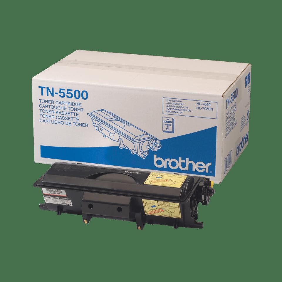Oryginalny wysokowydajny czarny toner TN-5500 firmy Brother