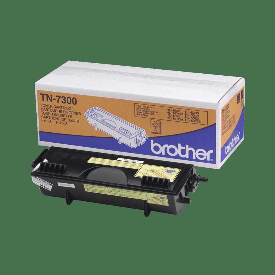 Oryginalny wysokowydajny czarny toner Brother TN-7300