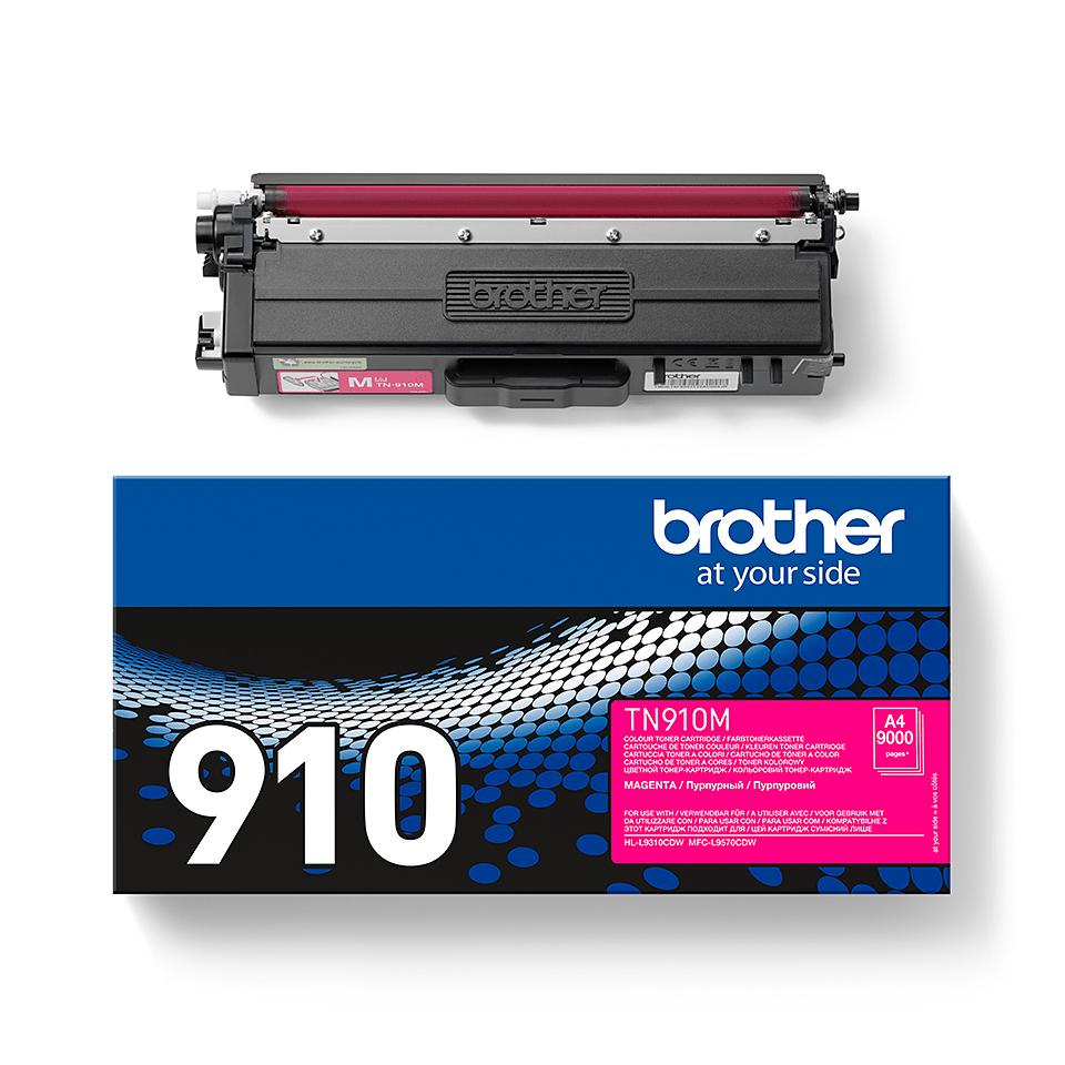 Oryginalny toner TN-910M firmy Brother - magenta 2