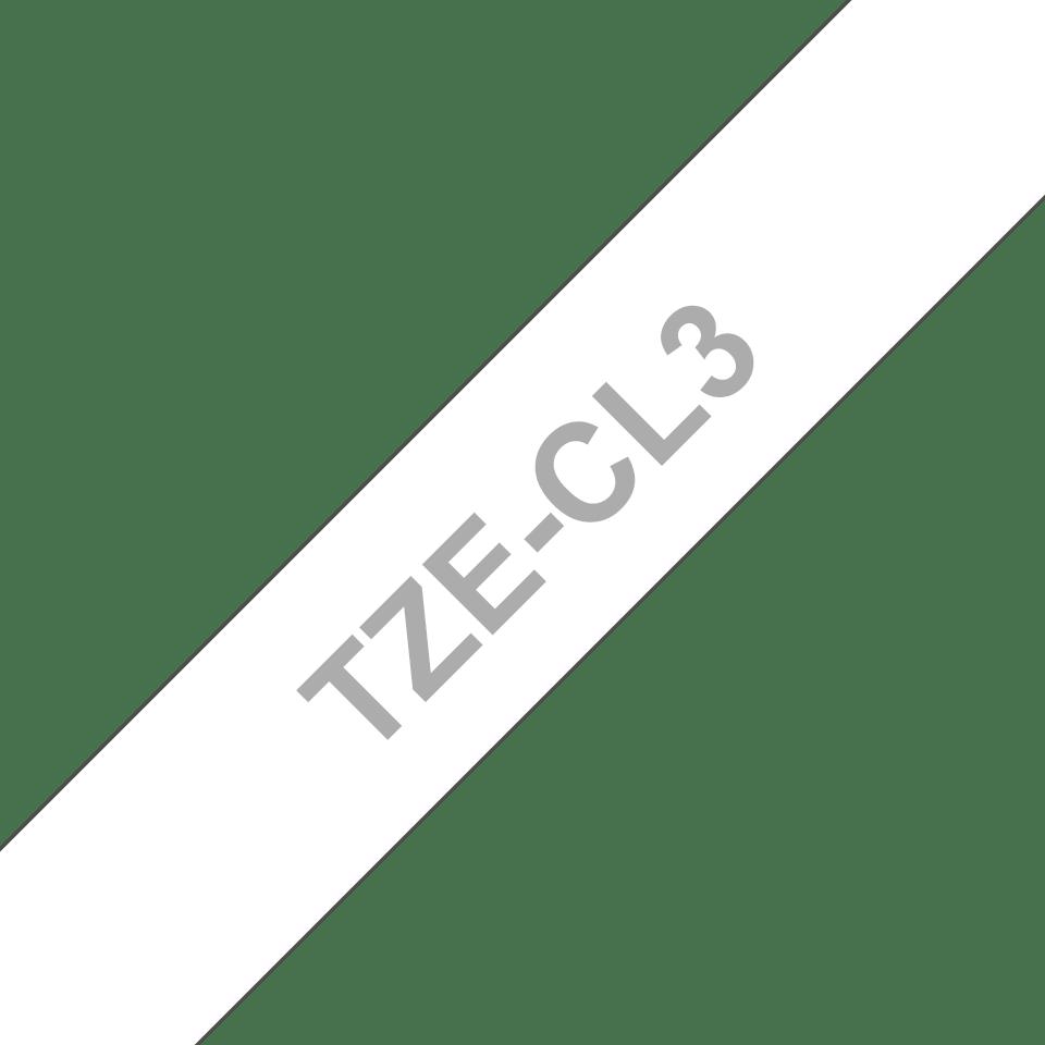 Oryginalna taśma czyszcząca głowicę TZe-CL3 firmy Brother – 12mm szerokości 3