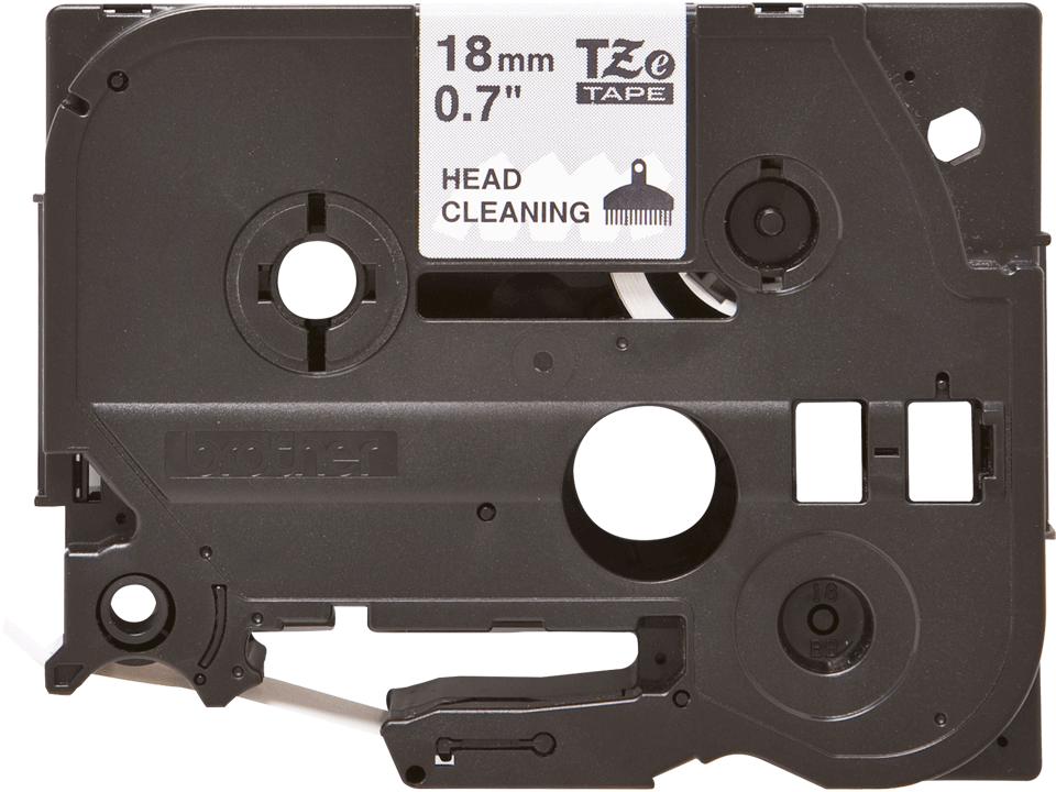 Oryginalna taśma czyszcząca głowicę TZe-CL4 firmy Brother – 18mm szerokości