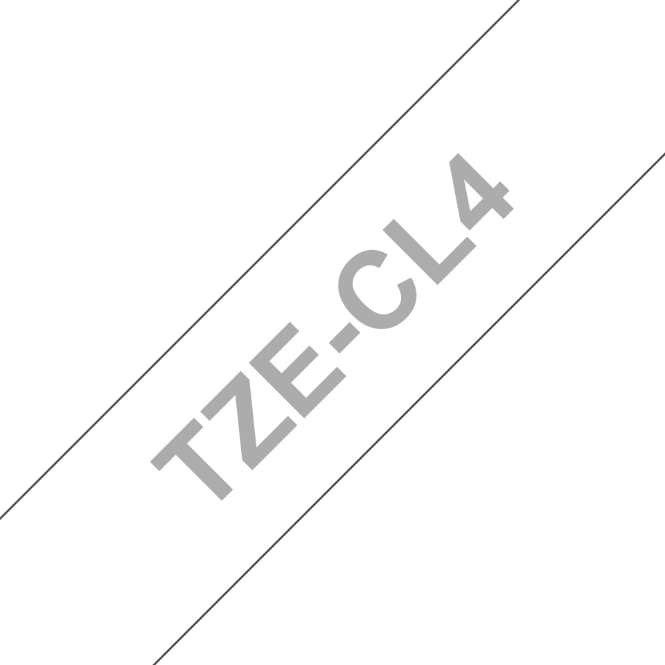 Oryginalna taśma czyszcząca głowicę TZe-CL4 firmy Brother – 18mm szerokości 3