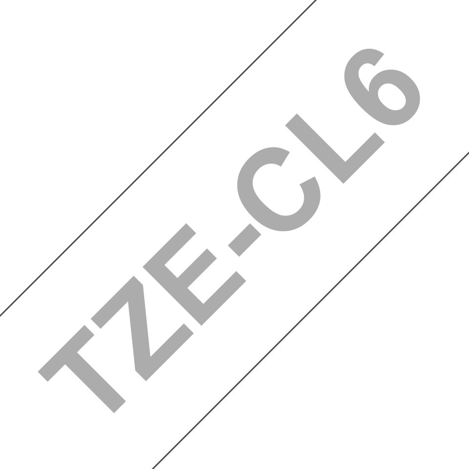 Oryginalna taśma czyszcząca głowicę TZe-CL6 firmy Brother – 36mm szerokości 3
