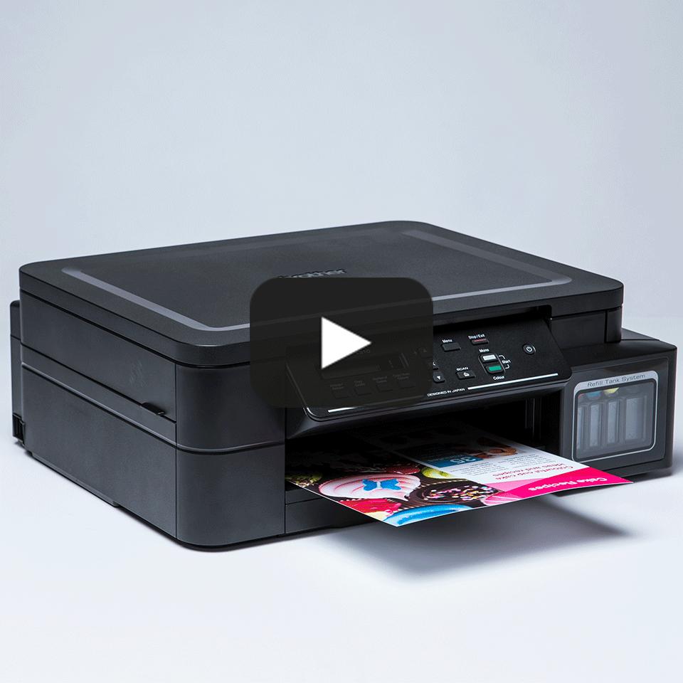 DCP-T310 InkBenefit Plus - kolorowe urządzenie wielofunkcyjne '3 w 1'  9