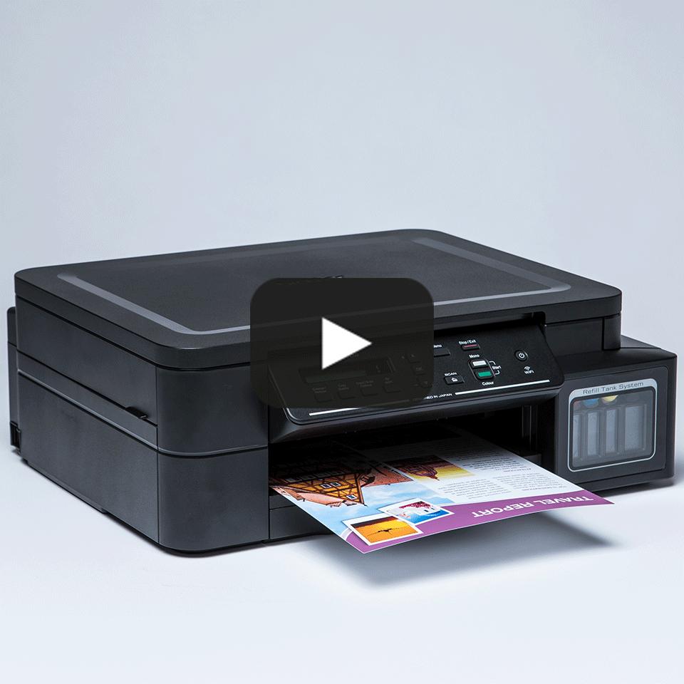 DCP-T510W InkBenefit Plus - bezprzewodowe urządzenie atramentowe '3 w 1'  10