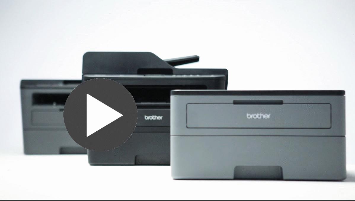 HL-L2312D Kompaktowa drukarka monochromatyczna  4
