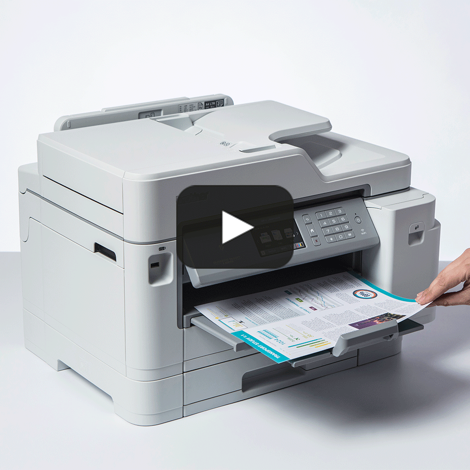 MFC-J5945DW Kolorowe atramentowe urządzenie wielofunkcyjne drukujące w formacie A3  7