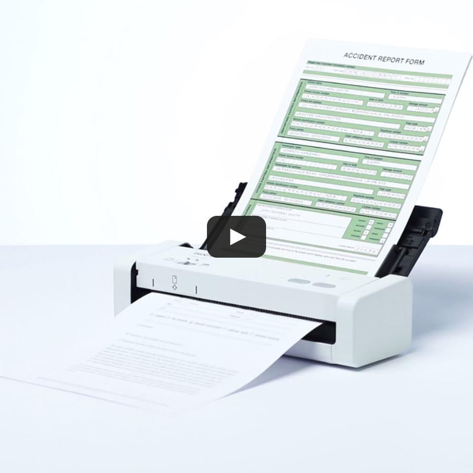 ADS-1200 przenośny kompaktowy skaner dokumentów 10